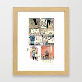 Renting Framed Art Print