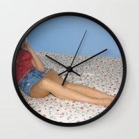 lolita Wall Clocks featuring Lolita by lauraruiz