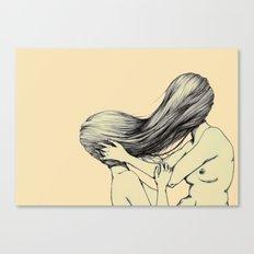 Hair Lust Canvas Print