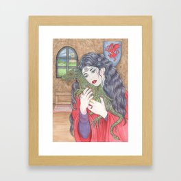 Morgana and Aithusa Framed Art Print