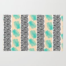Palm Leaf Abstract Rug