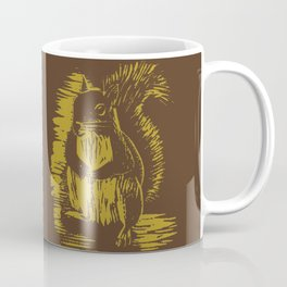 Gold Squirrel Mug Coffee Mug