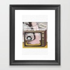 SPOT THE LOONEY Framed Art Print