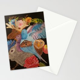 Outside my window Stationery Cards