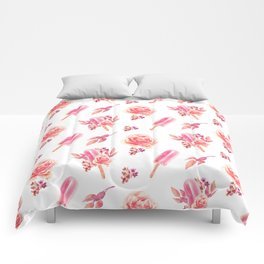 Floral Chill Comforters