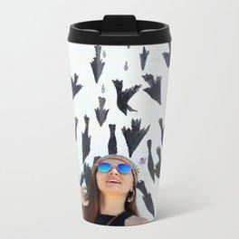 Bird Shower? Metal Travel Mug
