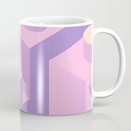 Pink building blocks Coffee Mug