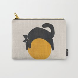 Cat with ball Tasche