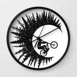 Ink Rider Wall Clock