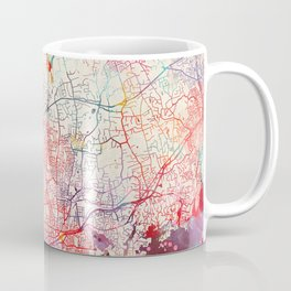 Stamford map Connecticut painting Coffee Mug