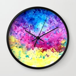 Splatter Wall Clock
