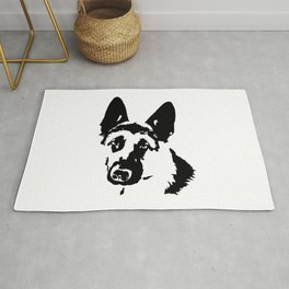 German Shepherd Dog Gifts Rug