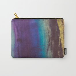 Bohemian Blue Earth Carry-All Pouch