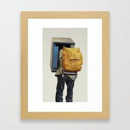 Booth Framed Art Print