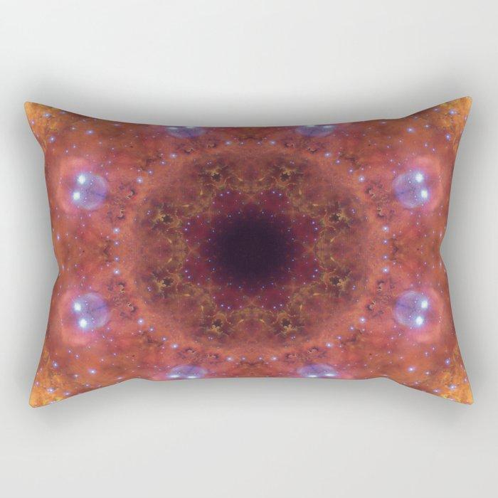 Space Mandala No14 Rectangular Pillow