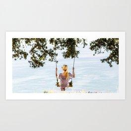 Swing Swing Art Print