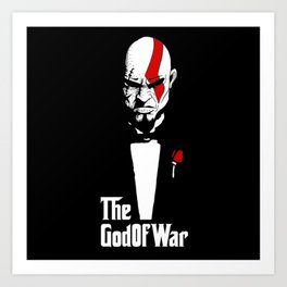 The God Of War Art Print