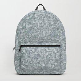 Galvanized metal look Backpack