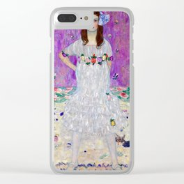 Gustav Klimt Mada Primavesi Clear iPhone Case