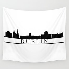 dublin skyline Wall Tapestry