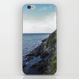 Along the sea in Ireland iPhone Skin