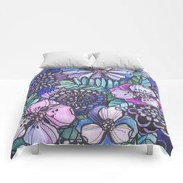 Midnight Jungle Comforters