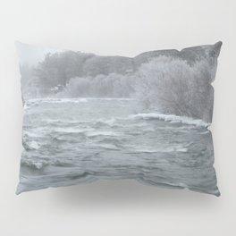 Winter On The Deschutes River Pillow Sham