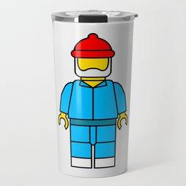 Steve Zissou Lego Man Travel Mug
