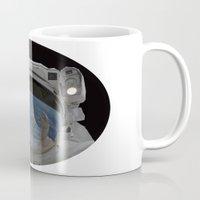 astronaut Mugs featuring Astronaut by fscVisuals