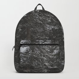 Snowy Forest Backpack