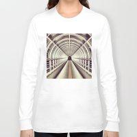 bridge Long Sleeve T-shirts featuring Bridge by BarWy