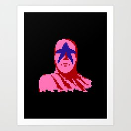 Star Man Art Print