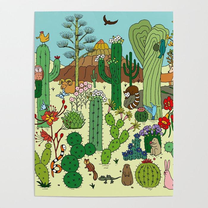 Arizona Desert Museum Poster
