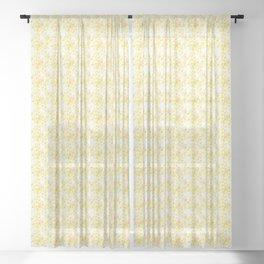 Mini Impressions: DAFFODIL STUDY 1 Sheer Curtain
