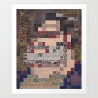ben giles Art Prints featuring Ben by A.D.