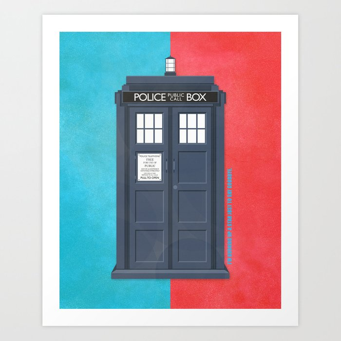 10th Doctor - DOCTOR WHO Art Print
