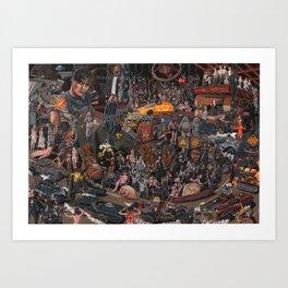 Highway to Valhalla Art Print