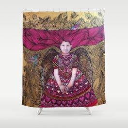 amor divino Shower Curtain