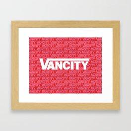 VANCITY Framed Art Print