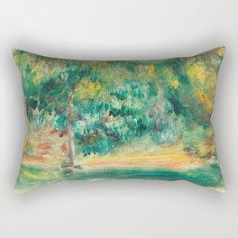 Pierre-Auguste Renoir - Paysage Rectangular Pillow