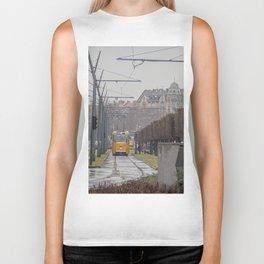 Budapest Tram. Biker Tank