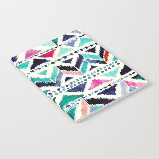 Celestial Chevron Tribal Stripe Notebook