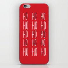 Ho Ho Ho iPhone & iPod Skin
