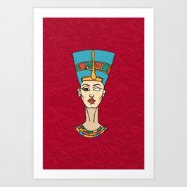 Dat Queen Though Art Print