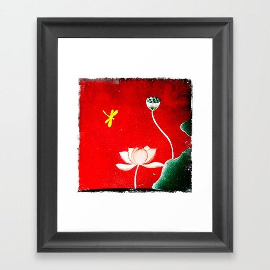 Vietnamese Landscape Framed Art Print