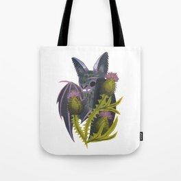 bat & bull thistle Tote Bag