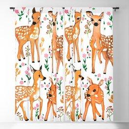 Springtime Deer  Blackout Curtain