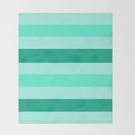 Winter Mint Candy - Color Therapy Throw Blanket