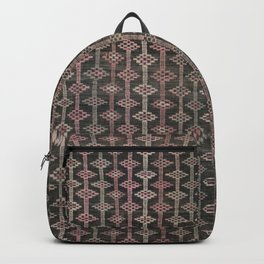 Kilim in Pink and Black Backpack