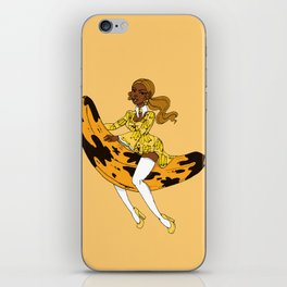 Ms Plantain iPhone Skin